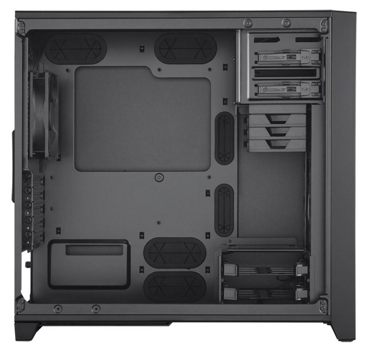 Corsair Obsidian 350D Window Micro-ATXケース (CC-9011029-WW)