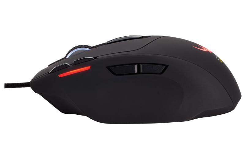 Corsair Gaming SABRE RGB Laser LEDバックライト搭載軽量ゲーミングマウス (CH-9000090-AP)