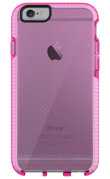 Tech21 Evo Mesh for iPhone 6/6s ピンク/ホワイト 耐衝撃ケース (T21-5007)