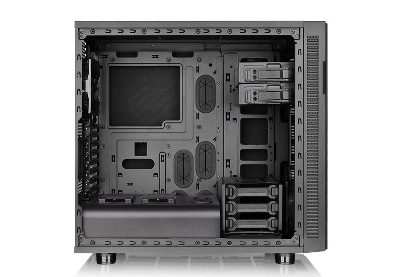 Thermaltake Suppressor F31-Window Power Cover Edition ミドルタワー型PCケース (CA-1E3-00M1WN-02)