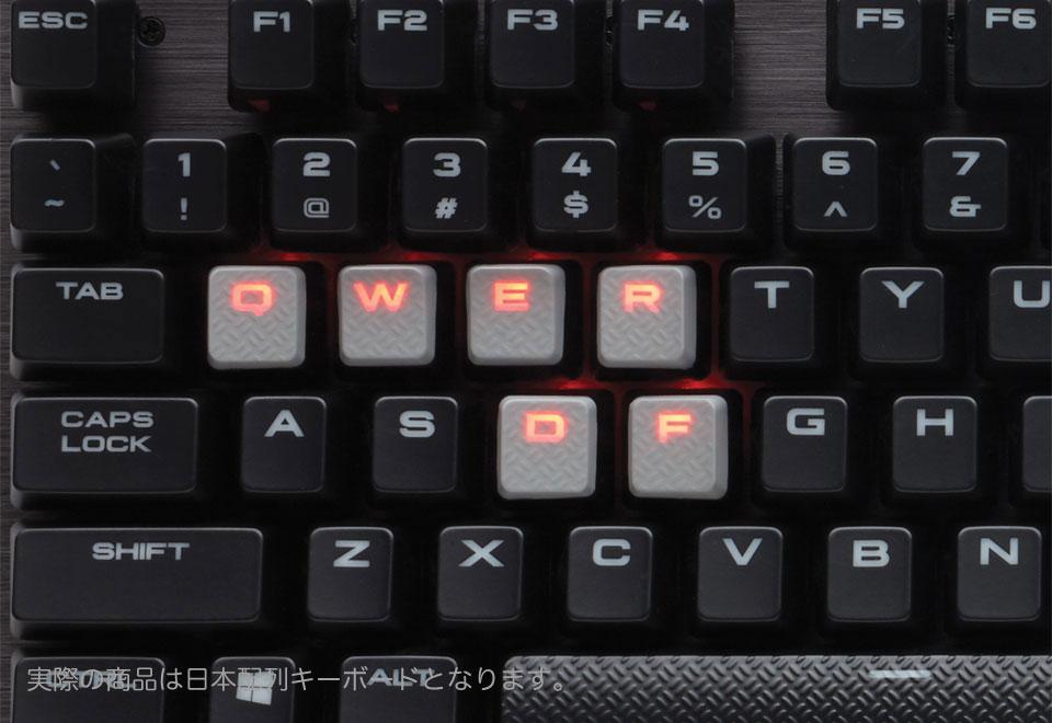 Corsair K70 LUX Cherry MX Brown LEDを搭載ゲーミングメカニカルキーボード(Cherry MX Brown)日本語配列|CH-9101022-JP