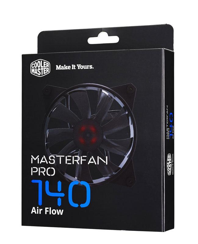 Cooler Master MasterFan Pro 140 Air Flow 140mm風量を重視したファン|MFY-F4NN-08NMK-J1