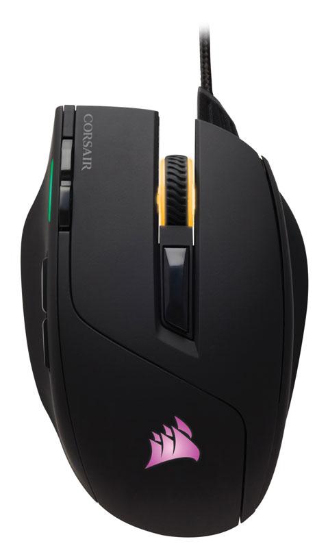 Corsair Gaming SABRE RGB プログラマブルボタン搭載レーザーゲーミングマウス|CH-9000112-NA