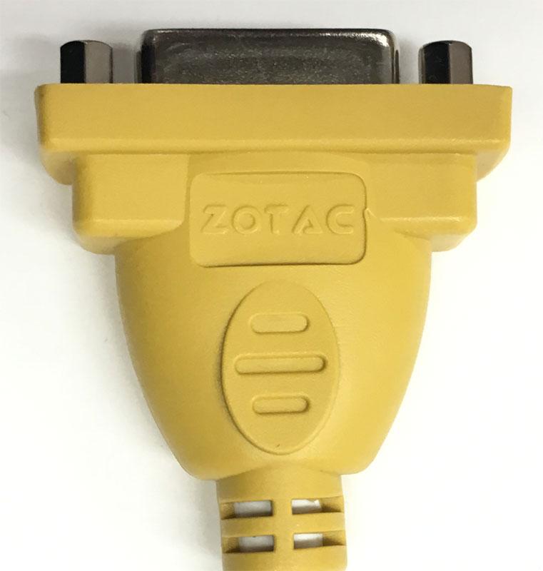 ZOTAC DVI(メス)-HDMI(オス) 延長変換ケーブル 新品バルク |146-00788-0000F/246-00040-0000F