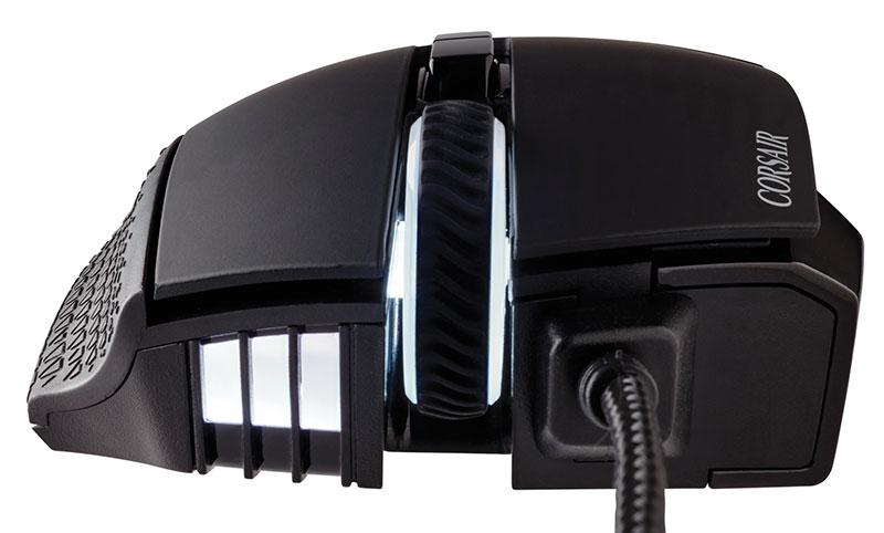 Corsair SCIMITAR PRO RGB ブラック 最大解像度16000dpi ゲーミングマウス  CH-9304111-AP