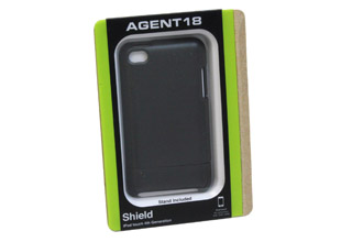 Agent18 Shield for iPod touch 4G Black (TS4/B)