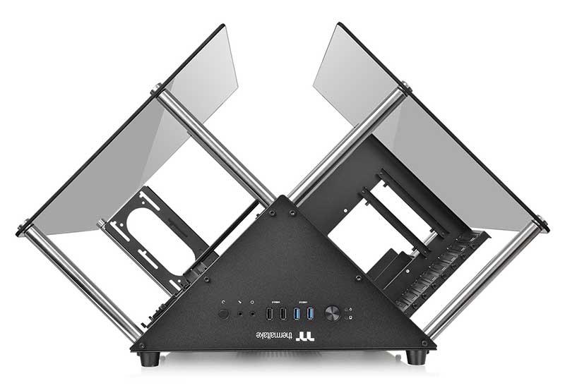 Thermaltake Core P90 TG オープンフレーム型PCケース CA-1J8-00M1WN-00