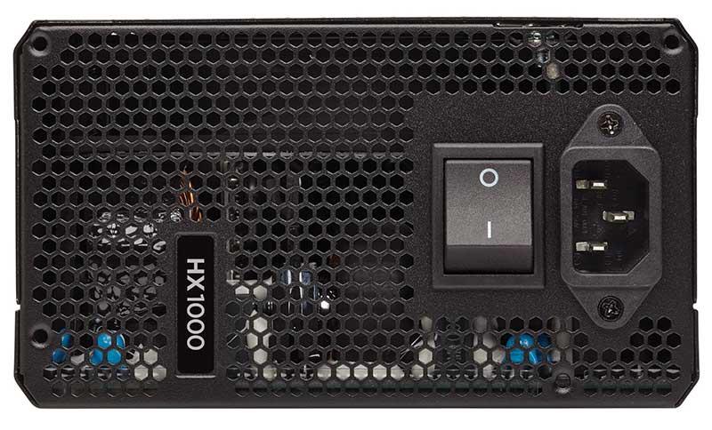 Corsair HX1000 1000W 日本メーカー製105℃コンデンサ採用電源ユニット|CP-9020139-JP