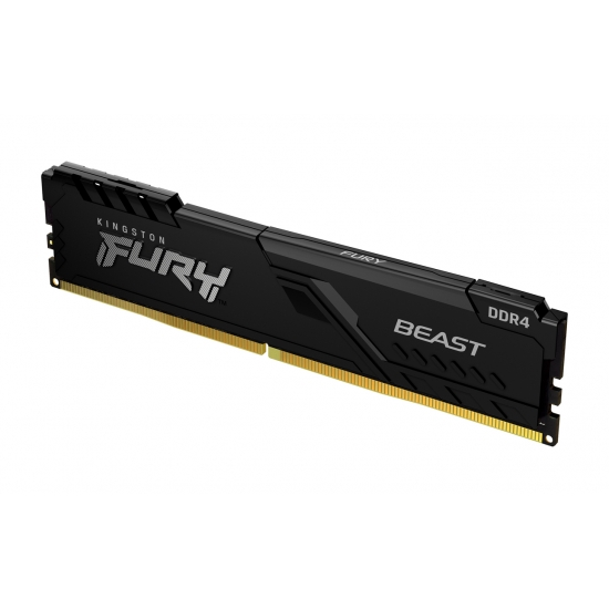 Kingston 32GB(32GBx1) DDR4 3200MHz (PC4-25600) CL16 DIMM FURY Beast ブラック|KF432C16BB/32