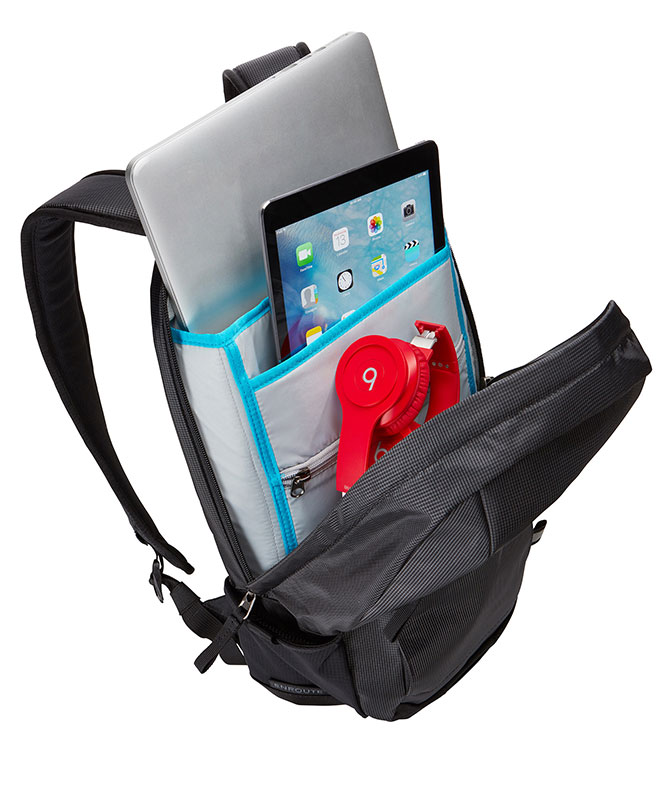 Thule EnRoute Backpack 13L ブラック/グレー PCバックパック/リュック|TSLB-315MIN