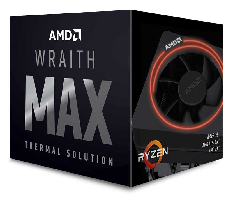 AMD Wraith Max cooler with RGB LED CPUクーラー 199-999575