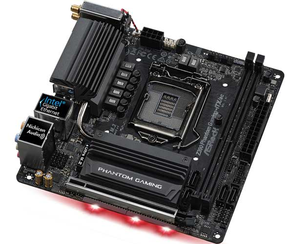 ASRock Z390 Phantom Gaming-ITX/ac Mini-ITXマザーボード|Z390 PhantomGaming-ITX/ac