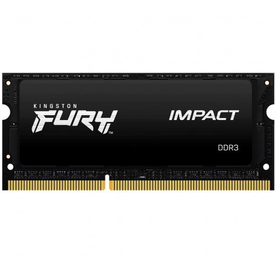 Kingston 8GB(8GBx1) DDR3L 1866MHz (PC3-14900) CL11 SODIMM 1.35V FURY Impact KF318LS11IB/8