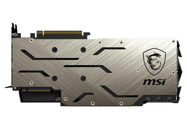 MSI オリジナルトリプルファンクーラー「Tri Frozr」採用グラフィックボード|GeForce RTX 2080 Ti GAMING X TRIO