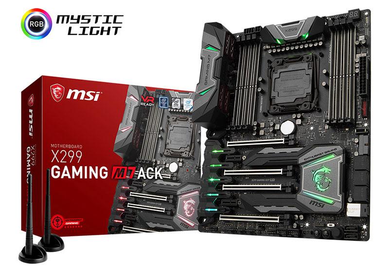 MSI X299 GAMING M7 ACK ゲーミングATXマザーボード