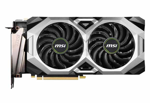 MSI GeForce RTX 2080 SUPER VENTUS XS OC グラフィックボード
