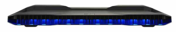 Cooler Master Notepal X150R ブルーLED搭載 ノートブッククーラー 17インチ|MNX-SWXB-10FN-R1