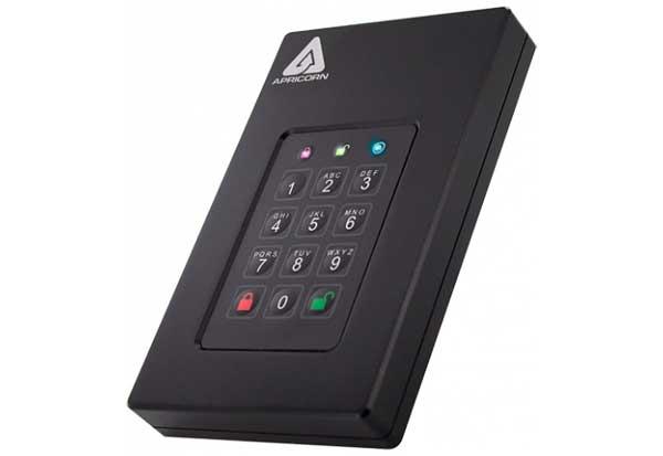 Apricorn Aegis Fortress L3 - USB 3.0 暗号化ストレージ HDD 3TB|AFL3-3TB