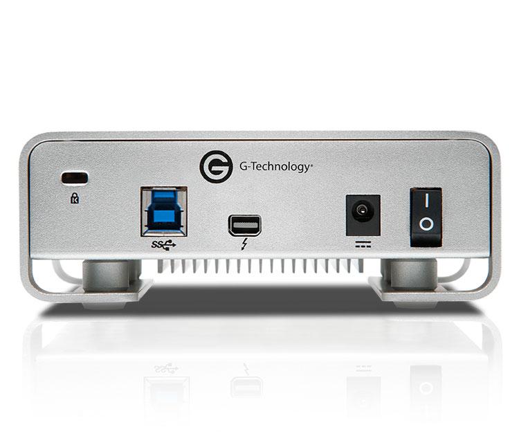 G-Technology G-DRIVE USB3.0、Thunderbolt  4TB (0G03053)