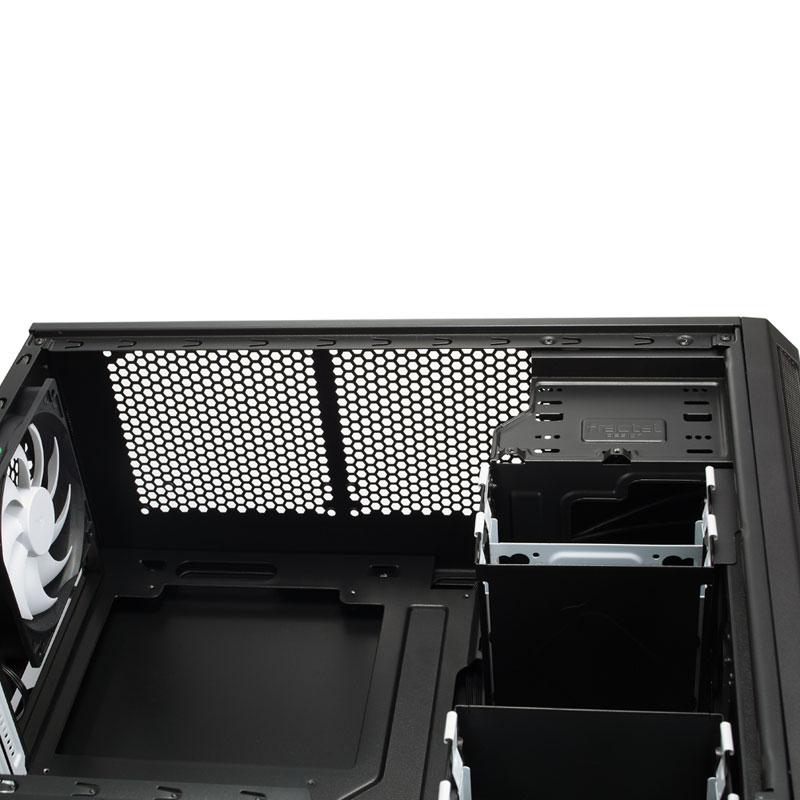 Fractal Design Core 1500 高い拡張性を誇る省スペースマイクロタワー型PCケース (FD-CA-CORE-1500-BL)