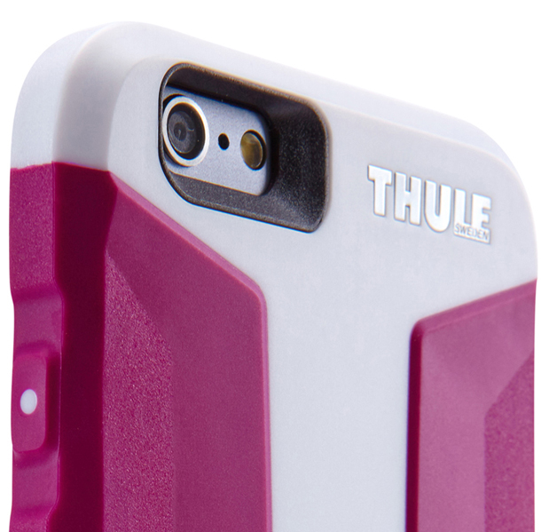 Thule Atmos X3 iPhone6 Plus /6s Plus 強い衝撃から保護するウルトラスリムケース パープル White/Orchid (TAIE-3125W/ORC)