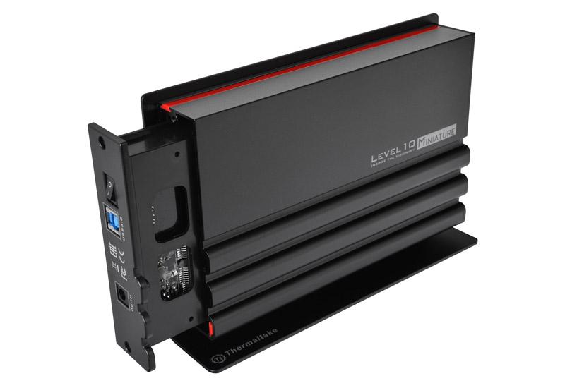 Thermaltake アルミボディを採用するUSB 3.0対応のHDDケース Level 10 Miniature (ST-005-E31U3J-B1)