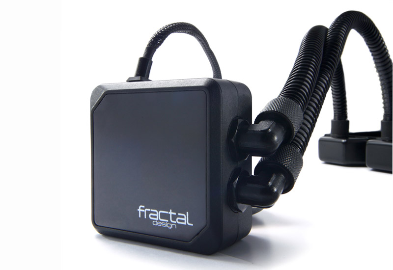 Fractal Design 水冷一体型CPUクーラー Kelvin S24 Water Cooling Unit, Black (FD-WCU-KELVIN-S24-BK)