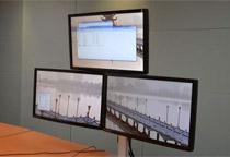 Belltech モニター3台の取り付けが可能 トライアングルスタンド (EGFS-8023)