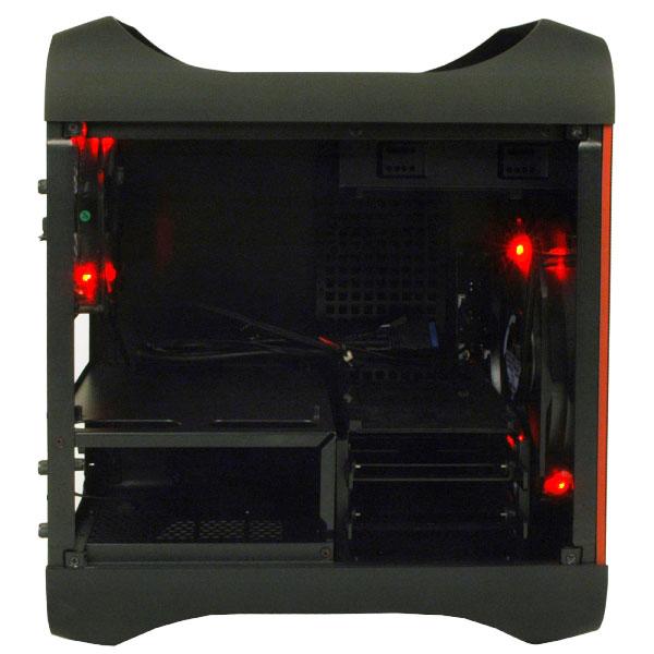 BitFenix Prodigy red/black 日本限定J-LIMITEDモデル Mini-ITX PCケース (BFC-PRO-300-KKXRK-JP)