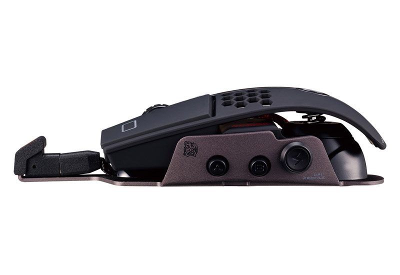 Thermaltake LEVEL 10 M Hybrid Mouse BMWとコラボ有線・無線接続両対応したハイブリッド・ゲーミングマウス (MO-LTM-HYLOBK-24)