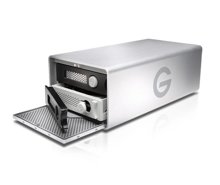 G-Technology G-RAID Removable 8TB Thunderbolt 2、USB 3.0 (0G04088)
