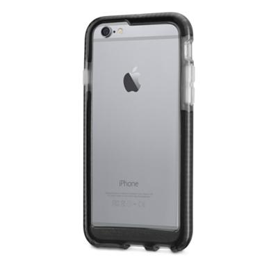 Tech21 Evo Band for iPhone6/6s 衝撃吸収バンパーケース スモーク/ブラック (T21-5000)