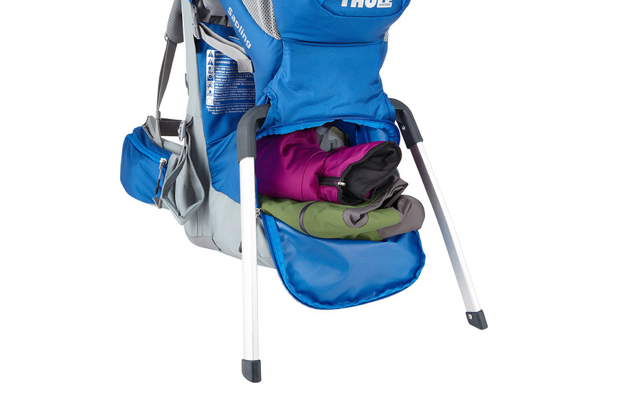 Thule Saplingチャイルドキャリア 大切な子供をしっかり守って快適に運べる - Slate/Cobalt (210205)