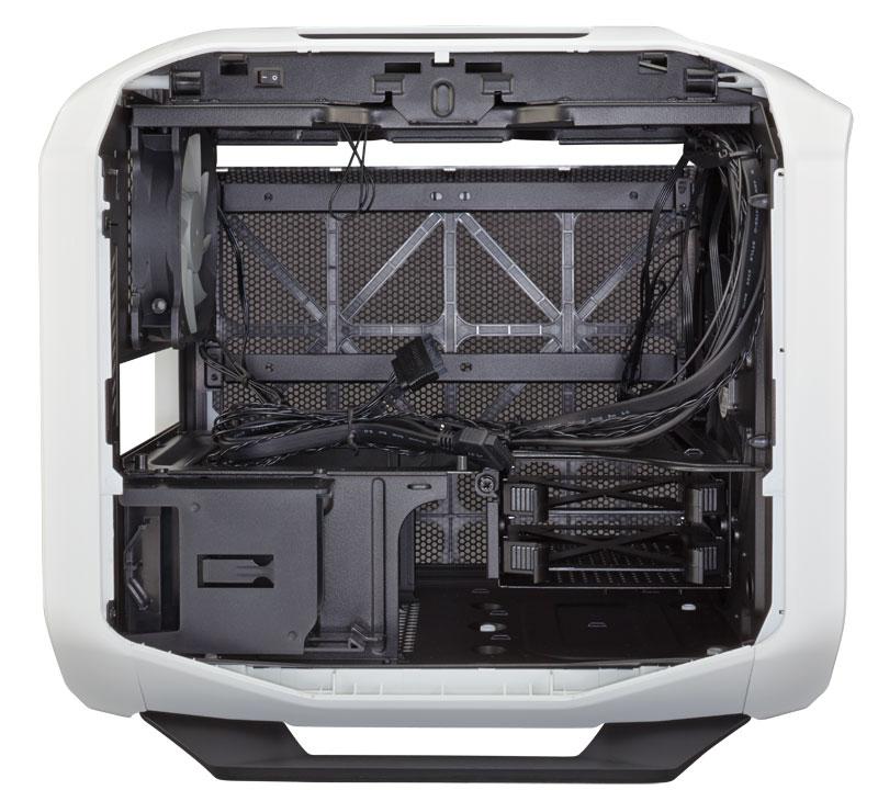 Corsair Graphite 380T ホワイト Mini-ITX対応ポータブルPCケース (CC-9011060-WW)