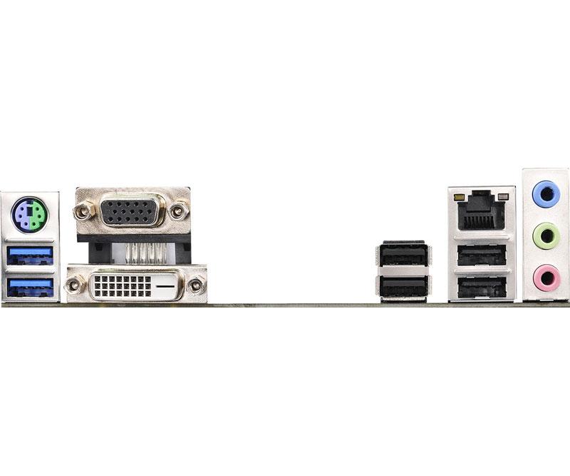 ASRock インテルH110チップセット搭載Micro ATXマザーボード (H110M-DVS/D3)