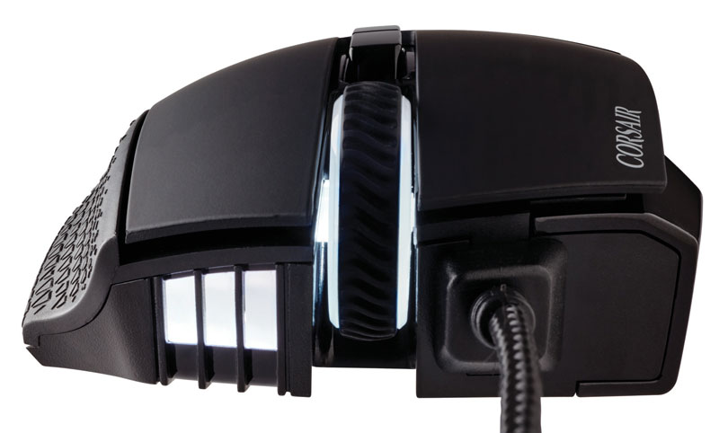 Corsair Gaming SCIMITAR RGB MOBA/MMO オプティカルゲーミングマウス (CH-9000231-NA)