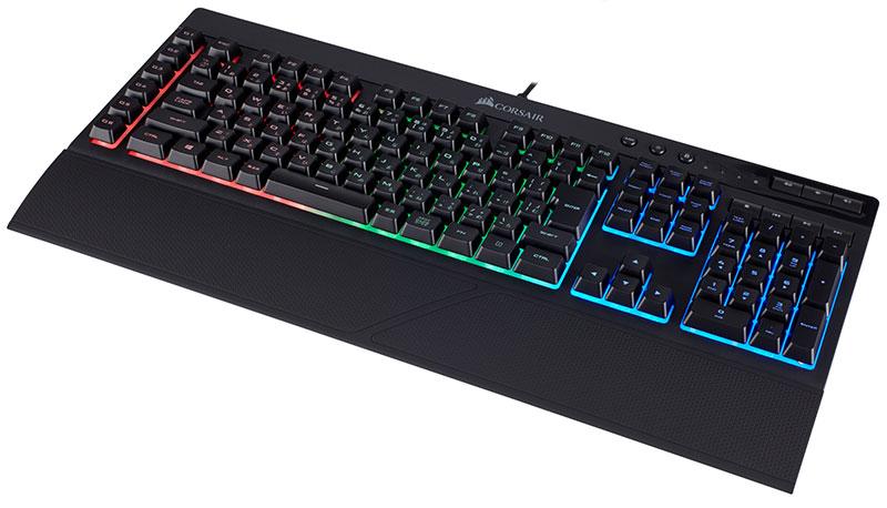 K55 RGBバックライト 6つのマクロ専用キー搭載 ゲーミングキーボード|CH-9206015-JP
