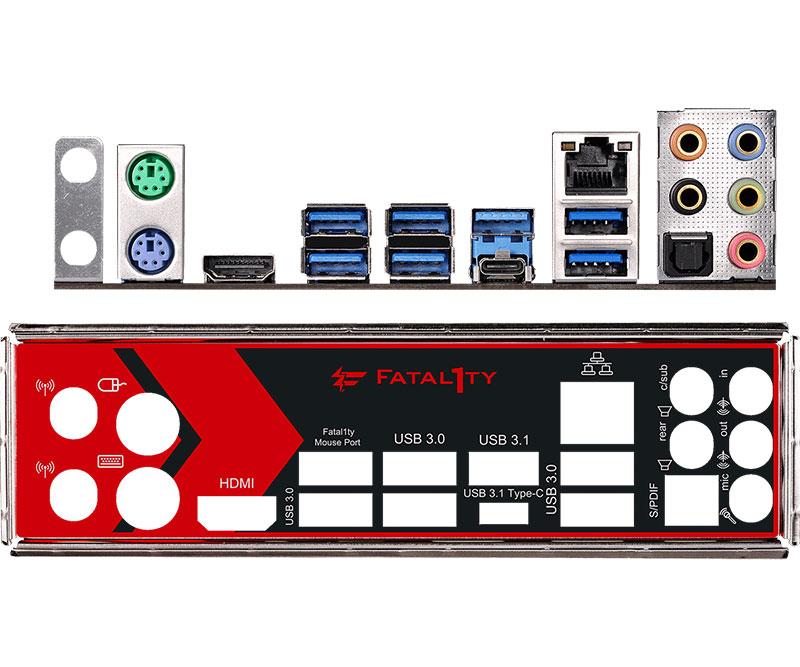 ASRock Fatal1ty X370 Gaming K4 AMD X370チップセット搭載ATXゲーミングマザーボード