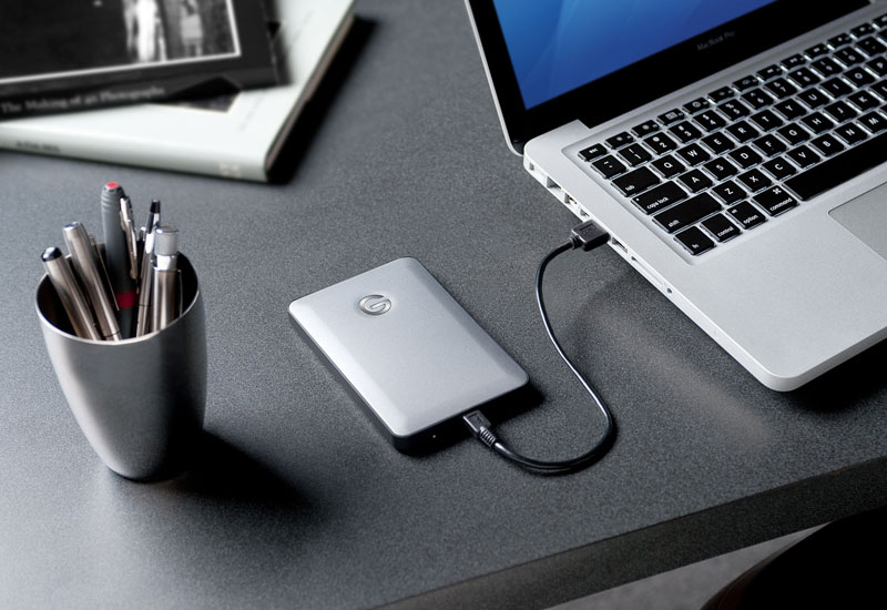 G-Technology G-DRIVE Mobile USB3.0 1TB ポータブル外付けHDD (0G02755)