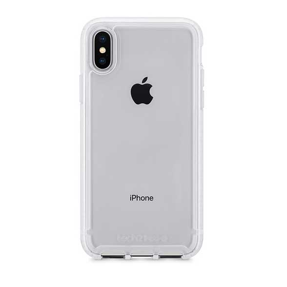 Tech21 Pure Clear Case for iPhone X 保護ケース クリア|T21-5906