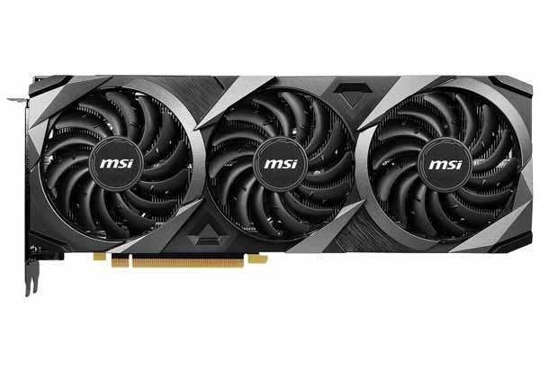 MSI GeForce RTX 3080 Ti VENTUS 3X 12G OC オーバークロック仕様のグラフィックボード