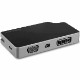 StarTech USB Type-C接続マルチハブ 5ポート HDMI/DVI/VGA/mDP出力対応マルチアダプタ 85W PowerDelivery 4K/60Hz アルミケース|CDPVDHMDPDP