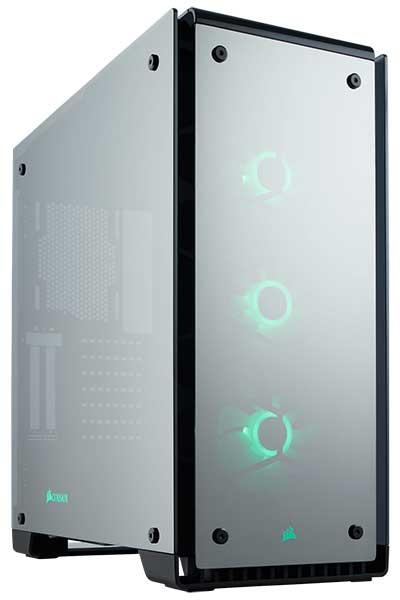 Corsair Crystal 570X RGB Mirror Black 鏡面仕上げミラーブラック PCケース|CC-9011126-WW