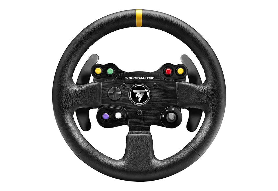 Thrustmaster TM Leather 28 GT Wheel Add-On ステアリングコントローラー (PC / PS3 / Xbox One / PS4)|4060057
