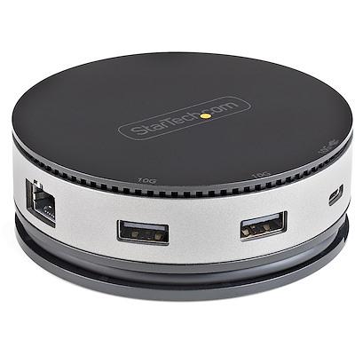 StarTech USB Type-Cマルチ変換アダプター 7-in-1 USB-Cマルチハブ タイプCトラベルドック DKT31CHDVCM