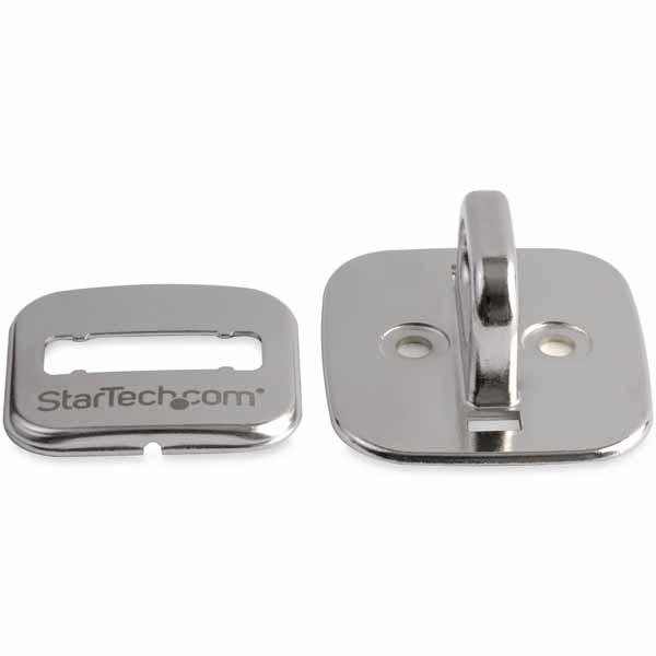 StarTech ノートパソコン盗難防止アンカーポイント セキュリティワイヤーロックを固定 亜鉛合金製|LTANCHOR