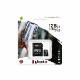Kingston 128GB micSDXC Canvas Select Plus microSD メモリカード 100R A1 C10 Card + SDアダプタ|SDCS2/128GB