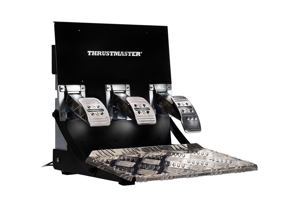Thrustmaster T3PA-PRO ADD-ON(PC / PS3 / Xbox One / PS4) 3ペダルユニット|4060065
