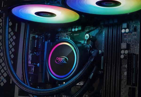 Deepcool GAMMAXX L360 A-RGB 水冷一体型CPUクーラー 液漏れを防ぐ新技術 DP-H12CF-GL360-ARGB