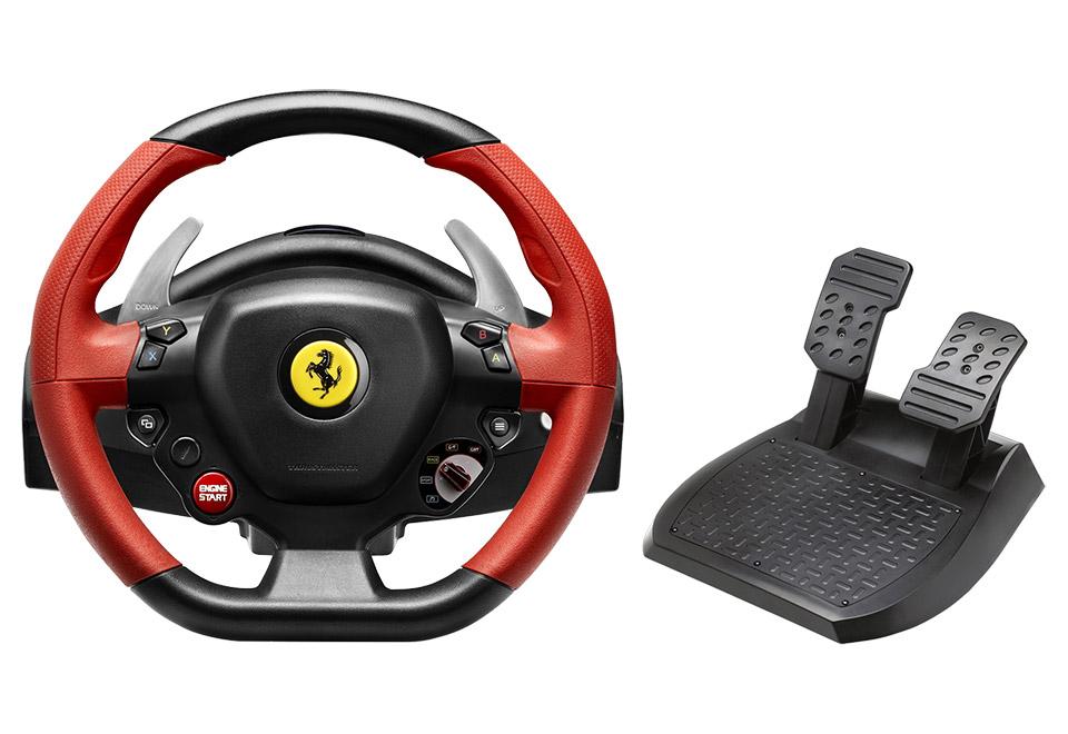 Thrustmaster Ferrari 458 Spider Racing Wheel 日本語パッケージ(Xbox One) フェラーリ ステアリングコントローラ|4460111